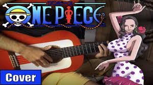 VIOLA - <b>ONE PIECE meets</b> flamenco gipsy guitarist GUITAR COVER ...