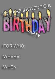 birthday party invitation templates com birthday party invitation templates to design sensational party invitation card based on your style 26111619
