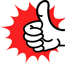 Image result for red thumbs up