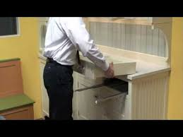 soft close drawers box: removing a soft close drawer box from our cabinetry