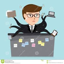 Image result for caricature about hard working man