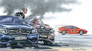 Germany's carmakers feel the <b>Tesla shock</b> | Financial Times