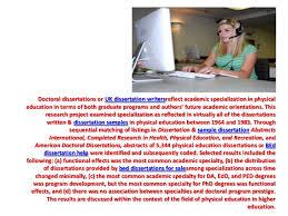 Dissertation education help   Thesis help melbourne