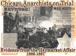 「1886, Haymarket affair」の画像検索結果
