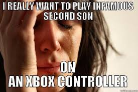 iNFAMOUS SECOND SON - quickmeme via Relatably.com