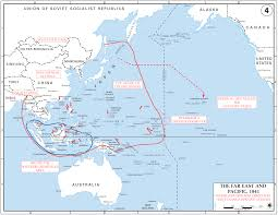 pearl harbor north carolina digital history map showing ese strategy in world war ii