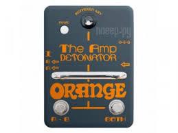 <b>Педаль Orange</b> Amp Detonator
