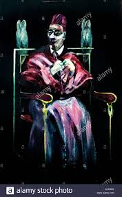 francis bacon stock photos francis bacon stock images alamy francis bacon the pope wit owls 1958 english britain stock image
