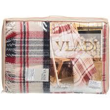<b>Плед Vladi полутораспальный</b> (140х200 см) шерсть 50%, п/э 30 ...