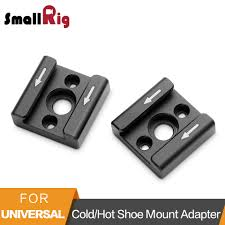 <b>Smallrig Cold Shoe Mount</b> Adapter With 1/4 Screws To Mount LED ...