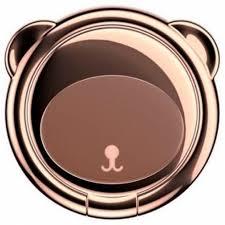 <b>Кольцо</b>-<b>держатель Baseus Bear</b> Brown - Кольцо на палец ...