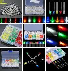 100/500/<b>1000PCS 3mm</b> White Green Red Blue Yellow LED Light ...