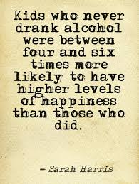 don t get an early start on liver damage shocking alcohol facts a fact about underage drinking it turns out kids who don t drink are