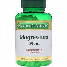 s Bounty, <b>Магний</b>, <b>500 мг</b>, <b>200</b> таблеток в оболочке : iHerb