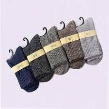 Winter <b>men's Super thick</b> cashmere wool socks high quality classic ...
