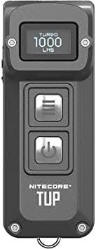 <b>Nitecore Tup</b> 1000 Lumen RCHRGBL Keychain Flashlight Gray ...