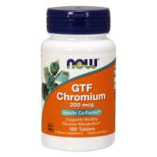 <b>GTF</b> Chromium Now <b>200</b> мкг - 100 таблеток | Купить <b>Хром</b> ...