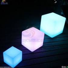 Night club outdoor decoration party <b>LED cube LED</b> bar table lamp ...