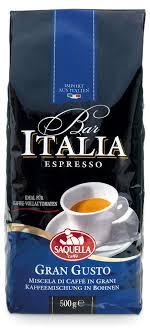 Купить <b>Кофе</b> в <b>зернах Saquella</b> Bar Italia Gran Gusto, 500 г с ...