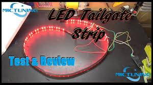 "Mictuning <b>60"" LED</b> Tailgate <b>Light Strip</b> Test & Review - YouTube"