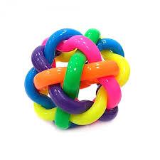 """Мячик """"<b>Разноцветная</b> плетенка"""" - Магазин игрушек - Фантастик"""