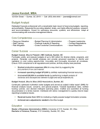 resume finance keywords