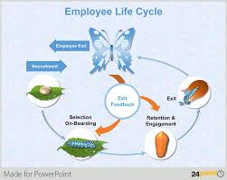 metamorphosis life cycle of a butterfly powerpoint slide business life concepts