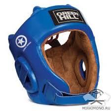 """<b>Шлем</b> для боевого самбо <b>Green Hill</b> """"<b>Five</b> Star Combat"""" синий ..."""