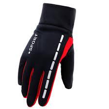 Мужские зимние <b>перчатки</b> с противоскользящим эластичным ...