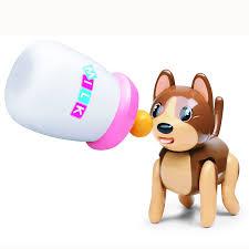 Baby Sucking <b>Pet Cat Dog</b> Stick Out Drink <b>Milk Bottle</b> Children gift ...