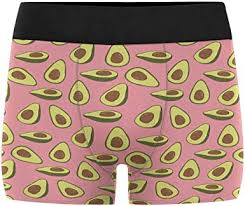 InterestPrint <b>Men's Avocado Pattern</b> Boxer Briefs Underwear L at ...