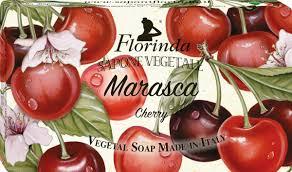 FLORINDA <b>Мыло Marasca</b> Вишня <b>100г</b> - Купить в VISAGE HALL