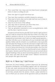 interview skills that win the job window tricks 17 interview