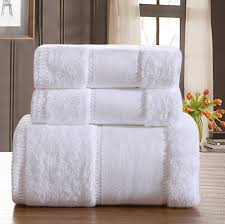 soft luxury towels bathroom luxury five star hotel  cotton brand bath towel sets white beach towel