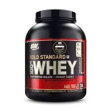 Optimum Nutrition (ON) <b>Gold Standard 100</b> Whey Protein Powder ...