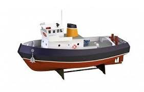 <b>Собранная деревянная модель</b> корабля Artesania Latina Tugboat ...