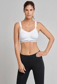 White <b>High Impact active sports</b> bra - <b>Sports</b> Bra   SCHIESSER