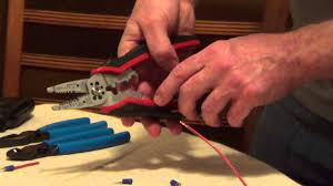 Crimp Connector - How to Crimp a <b>Terminal</b> Connector - YouTube