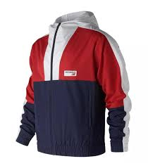 New Balance <b>NB Athletics Windbreaker</b> Multi-Blue – Rustan's