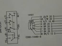 where do these headlight switch wires go pulled out of the plug from an original ford 89 mustang wiring diagram should be exactly the same as a 90