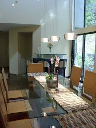 modern path lighting dining room eclectic with leather dining chairs high ceiling ceiling dining room lights photo 2
