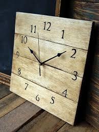 pallet clock tutorial antique wooden clocks antique unique pallet ideas