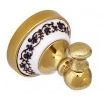 Крючок для ванной Fixsen Bogema <b>Gold</b> FX-78505G одинарный ...