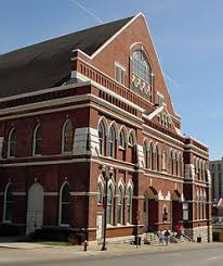 Image result for ryman theatre grand ole opry