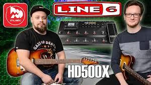 <b>LINE 6</b> POD HD500X - топовый <b>гитарный процессор</b> - YouTube