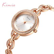 <b>KIMIO Brand</b> Small Dial <b>Women</b> Bracelet Watch 2018 <b>Luxury</b> ...