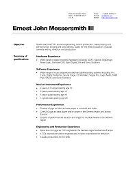 doc audio engineer resume sample for music production audio engineering resume template