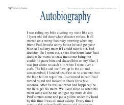 sample biography essay FAMU Online
