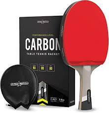 PRO SPIN Elite Series Carbon Ping Pong Paddle ... - Amazon.com