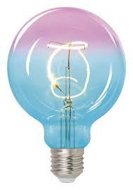 <b>Лампа</b> светодиодная <b>Uniel LED</b>-<b>SF01</b>-<b>4W</b>/<b>SOHO</b>/<b>E27</b>/<b>CW BLUE</b> ...